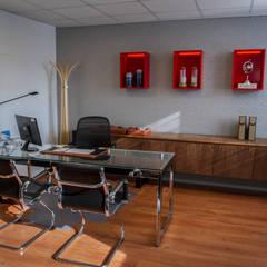 Vista General Oficina : Oficinas y Comercios de estilo  por Moon Design