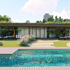Casas prefabricadas de estilo  por IEZ Design