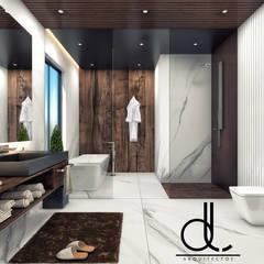 CASA L-01: Baños de estilo  por LD ARQUITECTOS