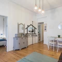 APARTAMENTO EM LISBOA (CAPUCHOS): Salas de jantar  por Click Inside - Real Estate Photography