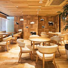 GRILL & BEER SAIBOKU 川越店: 株式会社KAMITOPEN一級建築士事務所が手掛けた商業空間です。