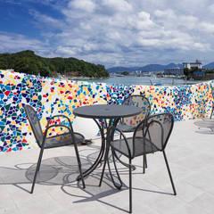 Restaurantes de estilo  por 株式会社KAMITOPEN一級建築士事務所