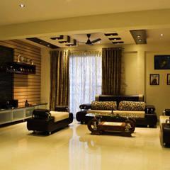 Living room by Rubenius Interiors