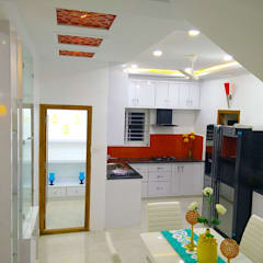 Built-in kitchens by Enrich Interiors & Decors