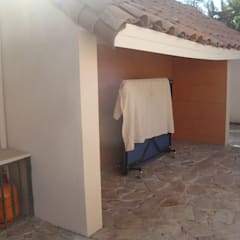 Terrazas de estilo  por DIEGO ALARCÓN & MANUEL RUBIO ARQUITECTOS LIMITADA