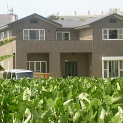 Projekty,  Dom jednorodzinny zaprojektowane przez 安居住宅有限公司