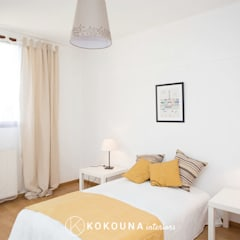 Home staging appartement: Chambre d'enfant de style  par KOKOUNA, Colonial