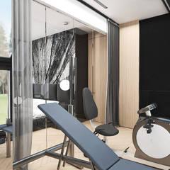 BIRDS EYE VIEW | II | Wnętrza domu: styl , w kategorii Siłownia zaprojektowany przez ARTDESIGN architektura wnętrz,