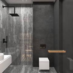 BIRDS EYE VIEW | II | Wnętrza domu: styl , w kategorii Łazienka zaprojektowany przez ARTDESIGN architektura wnętrz