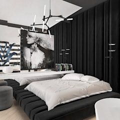 Teen bedroom by ARTDESIGN architektura wnętrz