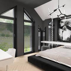 Chambre d'adolescent de style  par ARTDESIGN architektura wnętrz