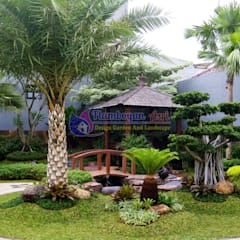 Jasa Tukang Taman Surabaya - Flamboyanasri: Gedung perkantoran oleh Tukang Taman Surabaya - flamboyanasri, Modern