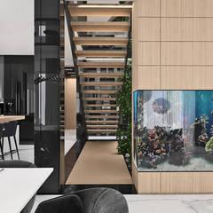 BIRDS EYE VIEW   I   Wnętrza domu: styl , w kategorii Schody zaprojektowany przez ARTDESIGN architektura wnętrz
