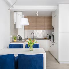mieszkanie 64m2 w Świdnicy: styl , w kategorii Kuchnia zaprojektowany przez nklim.design