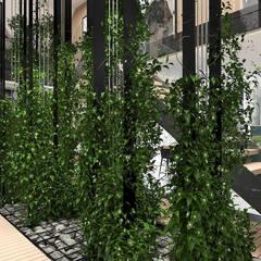 BIRDS EYE VIEW | I | Wnętrza domu: styl , w kategorii Ogród zimowy zaprojektowany przez ARTDESIGN architektura wnętrz
