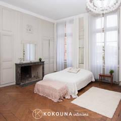 Home staging Chambre parentale: Chambre de style  par KOKOUNA