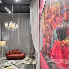 Hoteles de estilo  por Graziela Alessio Arquitetura