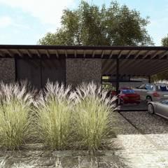 AV-278: Casas de campo de estilo  por C_arquitectos