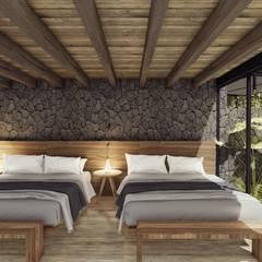 AVANDARO 278 : Casas de madera de estilo  por C_arquitectos