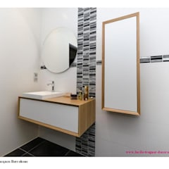 Rénovation d'une salle-de-bains: Salle de bains de style  par  Lucile Tréguer, décoratrice d'intérieur