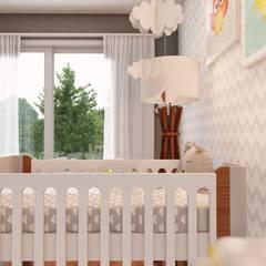 Quarto Bebê: Quartos dos meninos  por Olivia Paterno