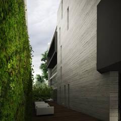 Granada : Edificios de Oficinas de estilo  por Sulkin Askenazi
