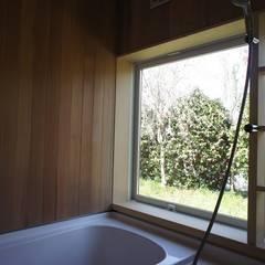 くるりのひらや: 環境創作室杉が手掛けた浴室です。