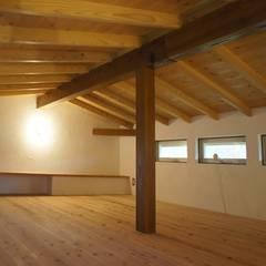 くるりのひらや: 環境創作室杉が手掛けた書斎です。