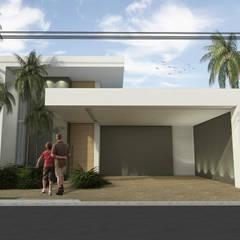 Antico+의  테라스 주택