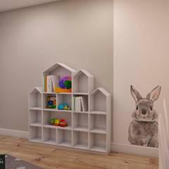 Квартира г. Зеленоградск: Детские комнаты в . Автор – Дизайнер интерьера Мария Хорошилова