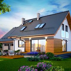 Projekt domu Alandra 2M: styl , w kategorii Dom jednorodzinny zaprojektowany przez Tooba.pl