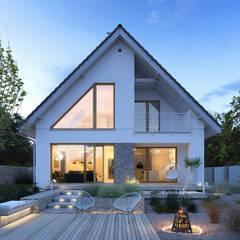 Projekt domu Dostępny 4A: styl , w kategorii Domy zaprojektowany przez Tooba.pl
