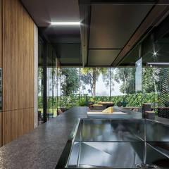 VERO CONCEPT MİMARLIK – Statü Urla Villa: modern tarz Mutfak