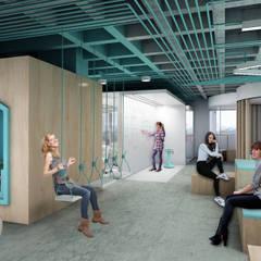 Work Factory Cowork : Oficinas y tiendas de estilo  por Sulkin Askenazi