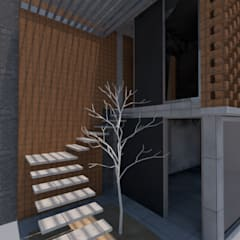 Casa Camacho: Casas unifamiliares de estilo  por Designo