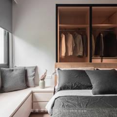 ห้องนอน by 湜湜空間設計