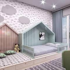 VERO CONCEPT MİMARLIK – Kalafatoglu Marina Residence:  tarz Çocuk Odası,