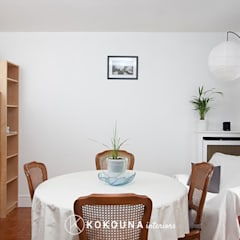Home staging Salle à manger: Salle à manger de style de style Moderne par KOKOUNA