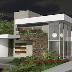 Residencial: Casas familiares  por Studiopar Arquitetura