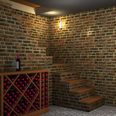 Wine cellar by lucia bernal arbuatti diseño interior