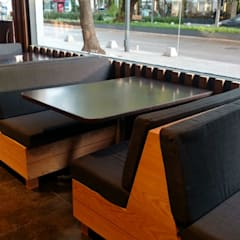 Restaurante de Sushi: Comedores de estilo minimalista por Designo Arquitectos