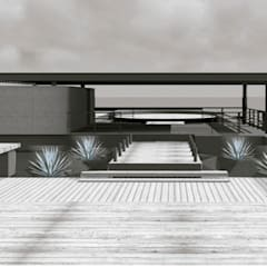 حديقة Zen تنفيذ Designo Arquitectos