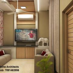 Wohnzimmer von divine architects