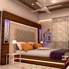 moderne Schlafzimmer von divine architects
