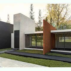 Country house by Novhus Oficina de Arquitectura