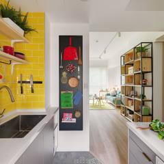 مطبخ تنفيذ 一葉藍朵設計家飾所 A Lentil Design , إسكندينافي