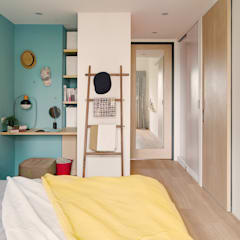 La Casa de Cathy  /  凱西特調之家:  更衣室 by 一葉藍朵設計家飾所 A Lentil Design