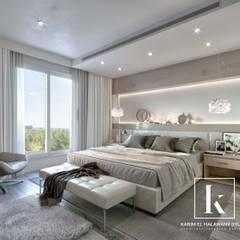 Apartment 1:  غرفة نوم تنفيذ Karim Elhalawany Studio