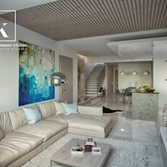 Jardines de invierno de estilo moderno por Karim Elhalawany Studio