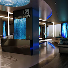 VR Gaming Center من Karim Elhalawany Studio حداثي